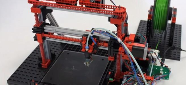 Fischertechnik 3D-Drucker als Baukasten